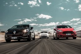 Clio RS vs Fiesta ST vs Polo GTI