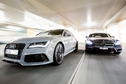 Audi RS7 v Mercedes-Benz CLS63 S