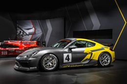Porsche reveals Cayman GT4 Clubsport