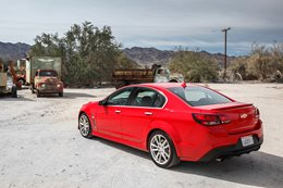 Chevrolet SS US road trip