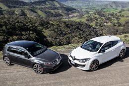 Megane RS265 vs Golf GTi Performance