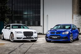 Chrysler 300 SRT vs HSV Clubsport R8 LSA Tourer