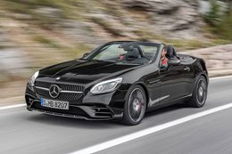 Mercedes-AMG SLC43 replaces SLK55