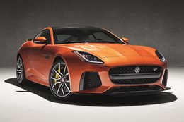 Jaguar F-Type SVR to get 322km/h top speed