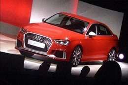 Audi RS3 sedan caught undisguised
