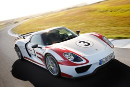 Porsche 918 Spyder at The Island