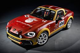 Fiat 124 Abarth Spider revealed
