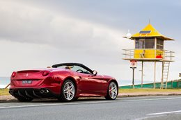 Ferrari California on the Gold Coast
