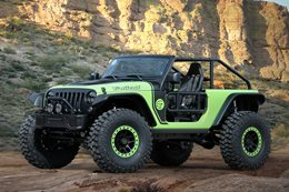 Jeep reveals Wrangler Trailcat concept