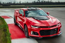 Chevrolet reveals Camaro ZL1