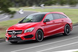Mercedes-AMG CLA45 AMG S/B review