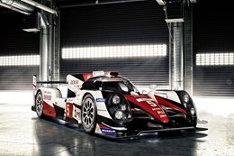 Toyota TS050 LMP1 racer revealed