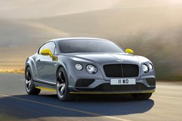 Bentley Continental GT Speed Black Edition revealed