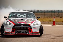 Nissan GT-R nails world's fastest drift