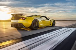 Hennessey creates world's fastest convertible
