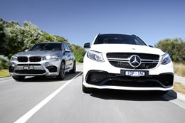 BMW X5 M VS Mercedes-AMG GLE63 S