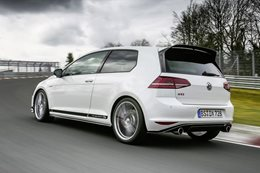 Volkswagen nabs Nurburgring front-drive record