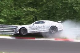 Chevrolet Camaro Z/28 Nurburgring crash