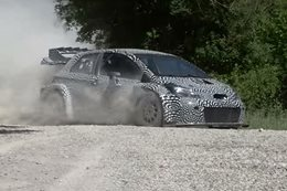 2017 Toyota Yaris WRC test