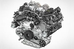 Porsche's new 4.0-litre twin-turbo V8 cuts loose