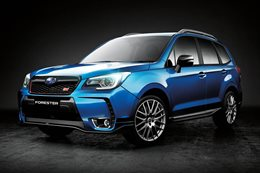 Subaru Forester tS specs revealed
