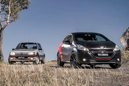Peugeot 205 GTI vs 208 GTI 30th Anniversary