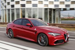 Alfa Romeo Giulia QV review