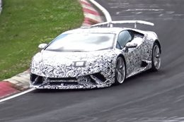 Lamborghini Huracan 'Superleggera' caught testing