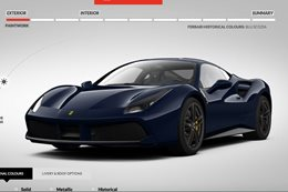 Build your own Ferrari 488
