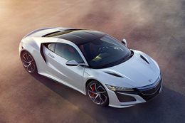 Honda NSX about quality, not quantity
