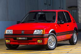 Peugeot 205 GTI sells for $53,000