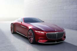 Mercedes-Maybach Vision 6 revealed