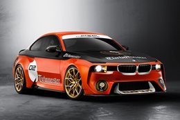 BMW 2002 Hommage racecar revealed