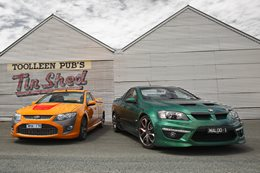 FPV Super Pursuit vs HSV Maloo R8