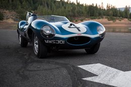 Jaguar D-Type sells for staggering 28 million