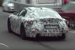 Next Toyota 'Supra' caught on film