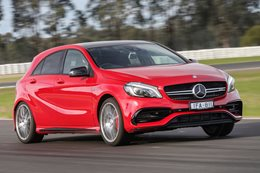2016 Mercedes-AMG A45 acceleration data