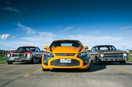 Ford Falcon over the years