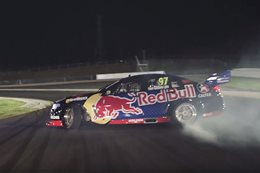 Shane Van Gisbergen Red Bull night drift