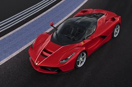 Ferrari LaFerrari auctions for US$7m