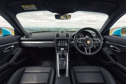 Best Interior of 2016: Porsche Cayman