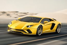 Lamborghini Aventador S revealed