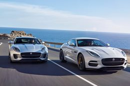 2018 Jaguar F-Type facelifted