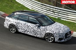 Audi RS4 Avant could get 335kW/600Nm