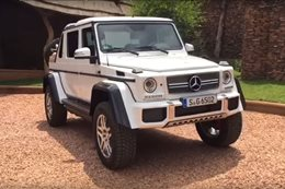 Mercedes-Maybach G650 Laundaulet