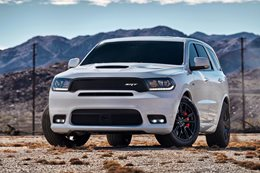 Dodge Durango SRT revealed