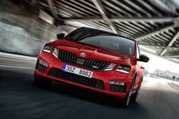2017 Skoda Octavia RS 245 revealed