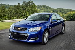 Holden ends Chevrolet SS orders