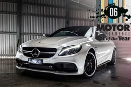 Mercedes-AMG C63 S coupe main