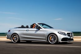 Mercedes AMG C63 S Cab review main